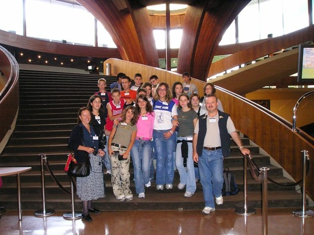 2004 gita premio al parlamento europeo