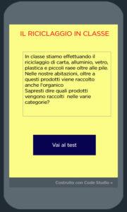 immagine app sul riciclaggio